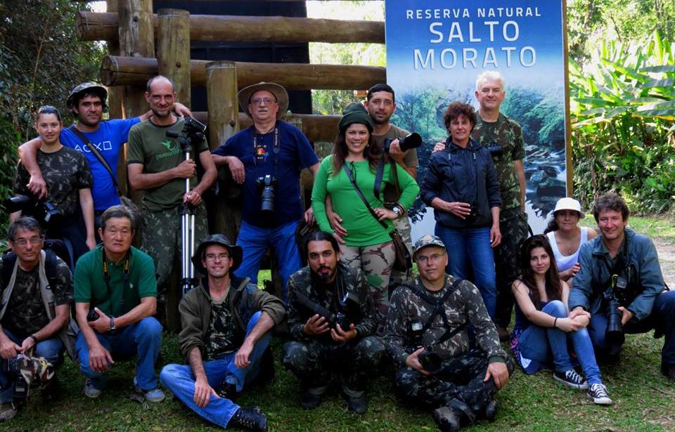 Grupo da 1ª Expedição Ornithos de Observação de Aves