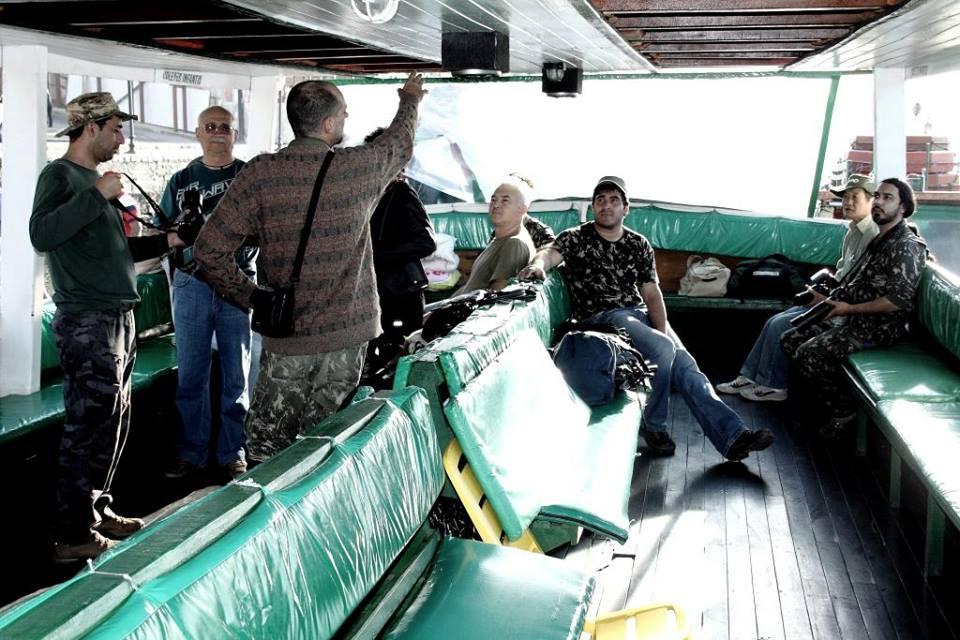 Navegando para Guaraqueçaba